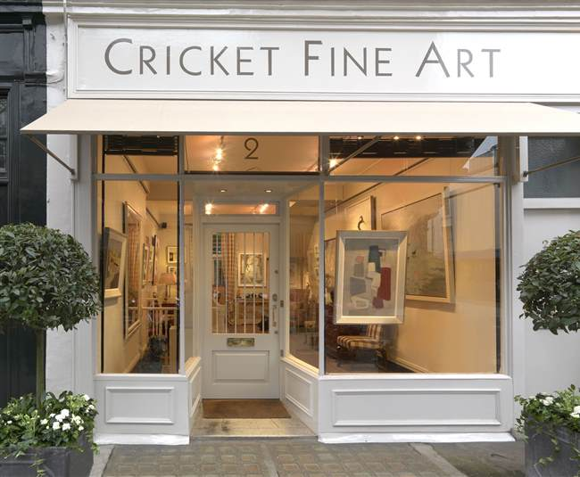 Cricket Fine Art Mayfair