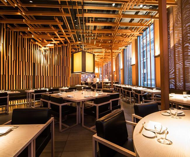 Sake No Hana Japanese Restaurant London Kengo Kuma
