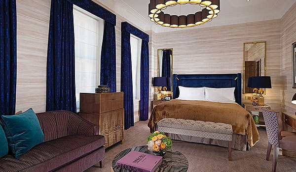 Luxury Junior Suite London at Flemings Mayfair Hotel