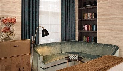 Sofa and Library Suite in Flemings Mayfair Hotel