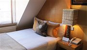 The Tiny Single: one of Flemings Hotel Luxury Rooms in Mayfair